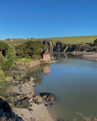 Our favorite view to cure the Monday blues! 🙂   #Bantham #BanthamBeach #Devon #Sea #SouthWest #RiverAvon #Love