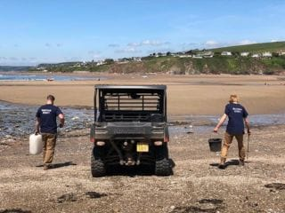 Did you know? The team at Bantham spend every morning walking the beach to pick up any washed up or discarded rubbish. The rubbish found is then carefully divided and recycled. ♻️  Last week we were joined by @tillcoastclear. Swipe to see some of the things the team picked up!  We will continue to do all we can to preserve, maintain and nurture the local wildlife and reduce the amount of plastic pollution on our shoreline!  #Bantham #AONB #Devon #BanthamDevon #salcombe #Swans #SouthWest #Tillcoastisclear